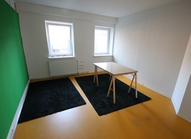 Room in shared office space for 2-4 people