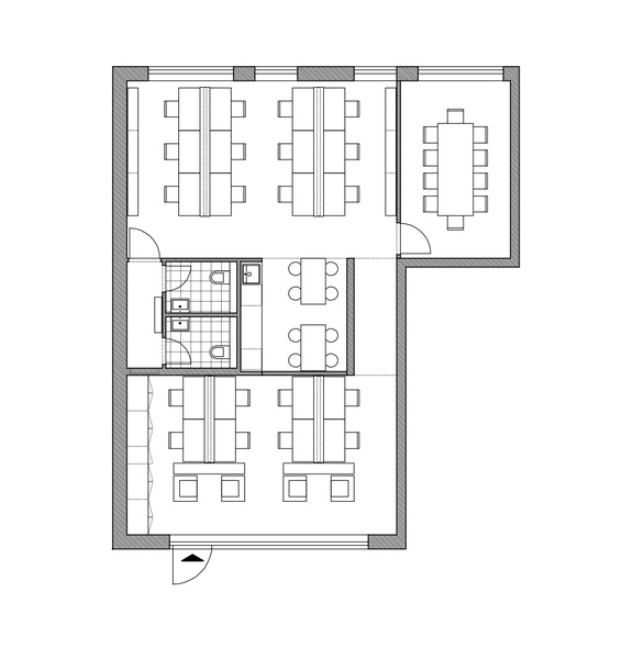 TEAMZ - new startup hub at Friedrichstraße. 20-200 desks. Available from 01. March.