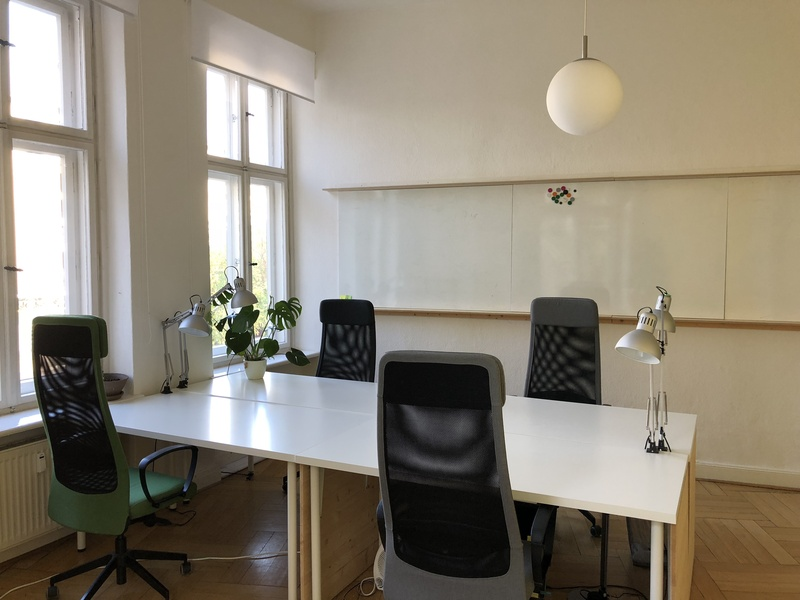 Office room for four people