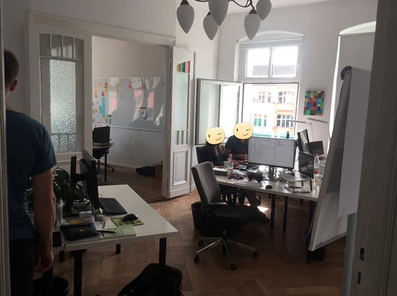 office space for up to 15 people in the heart of Prenzlauer Berg
