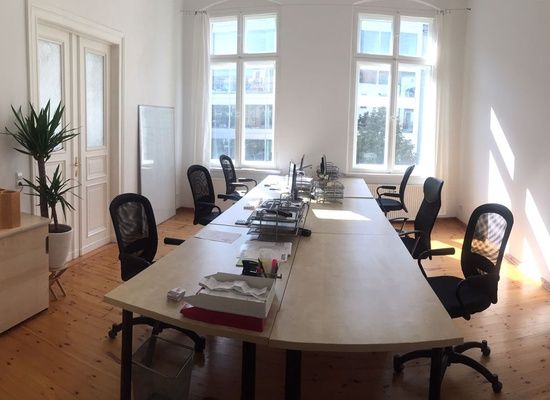 10 x DESK - COWORKING SPACE - 3 x OFFICE ROOM - 1 x MEETING ROOM - CITY CENTER  HACKESCHER MARKT  ORANIENBURGER STREET  BERLIN MITTE