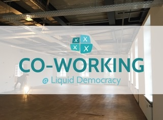 CoWorking @ Liquid Democracy / Alte Kindl Brauerei