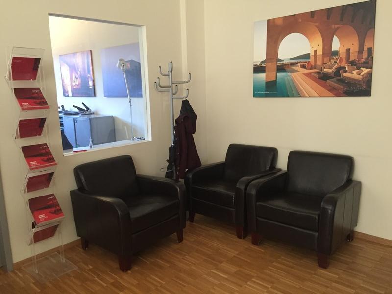 Heller Büroraum, 65 Quadratmeter für max. 12 Arbeitsplätze