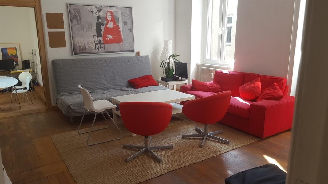 Furnished room in bigger office space (4 - 6 desks)