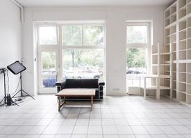 Desk in Studio Office