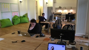 Spacious and beautiful loft office at Paul-Lincke-Ufer for 2 months