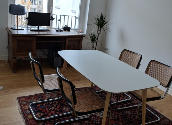 Office space (1 room + 2 shared meeting rooms) in West Berlin - close to Viktoria Luise Platz
