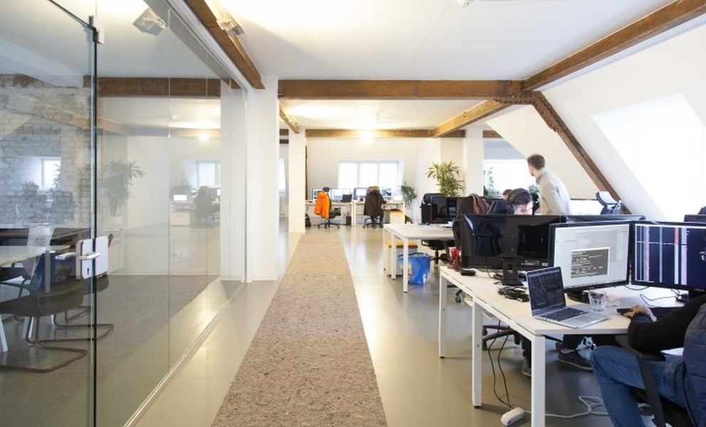 Bright and cosy co-working space in Neukölln