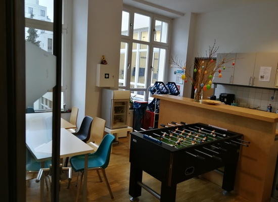 Office Sharing incl. Sunterrace in Mitte