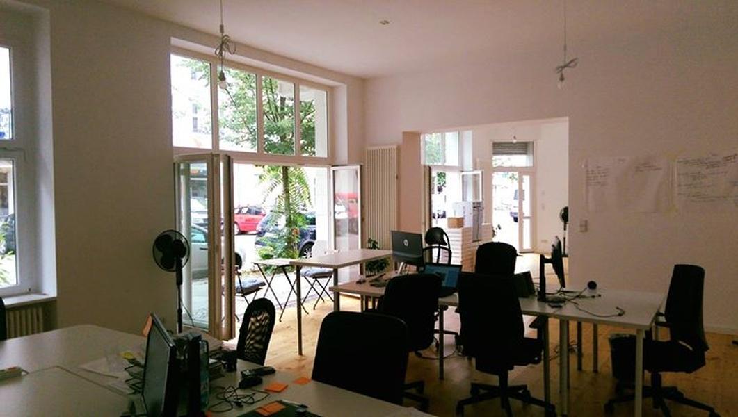 Büroinsel für 5-7 Personen - Nähe Volkspark Friedrichshain - Bötzowviertel