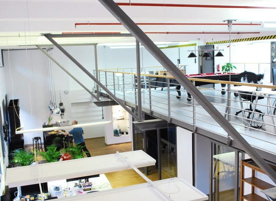 "Coworking space at ""Umspannwerk"": Desks available!"