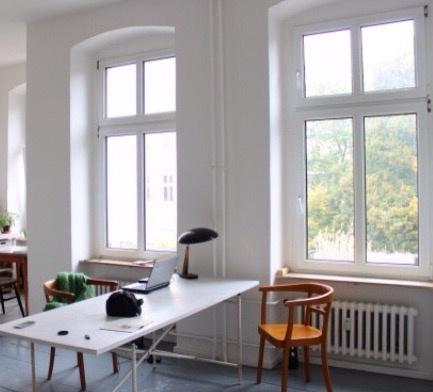 Atelier/ desk/ creative studio in Berlin 1.3-1.6.16
