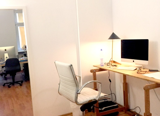 desk space available