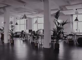 Modernes, digitales Arbeiten in traditionsreichem Berliner  Coworking space