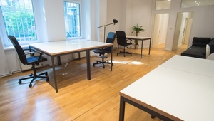 "Coworking / Shared office / Room or desks available - close to ""S Schönhauser Allee"""