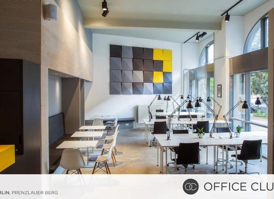 Flexible Coworking at Office Club Berlin Prenzlauer Berg