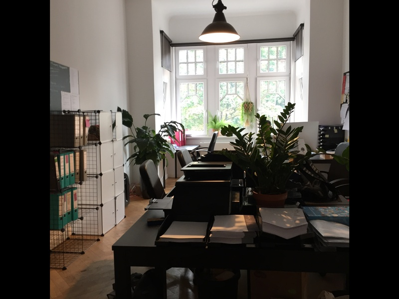 Bright fully furnished office in Moabit!