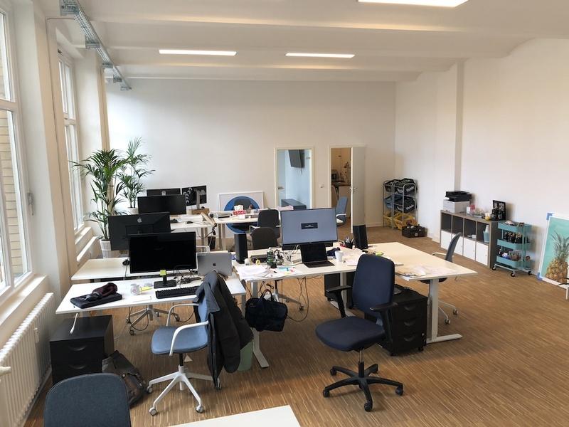 Schönes großes frisch renoviertes Büro direkt am Moritzplatz