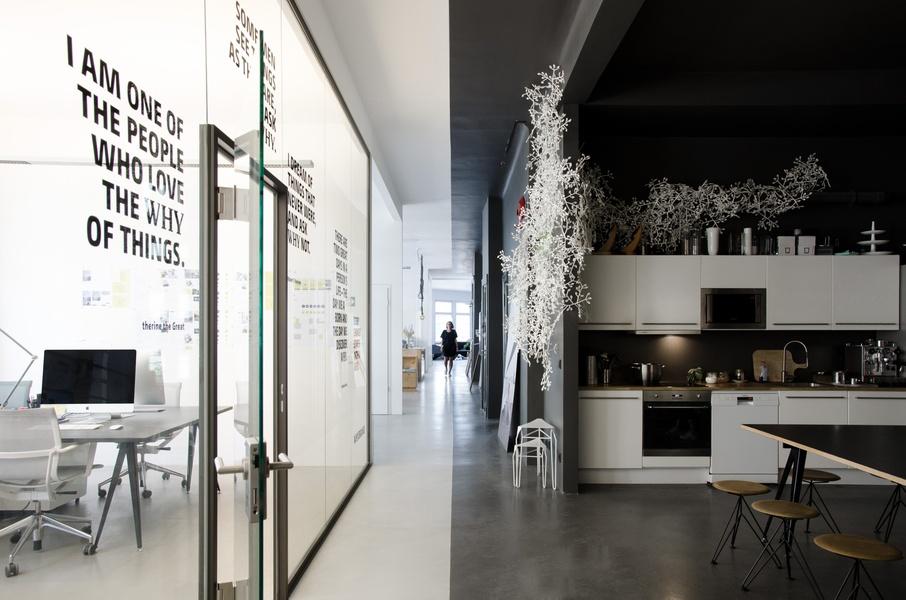 schöne Büroflächen zur Untermiete in Designstudio