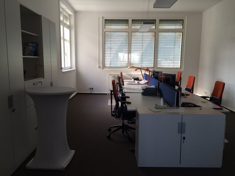 Up to 10 desks within a great office for rent and/or rooms