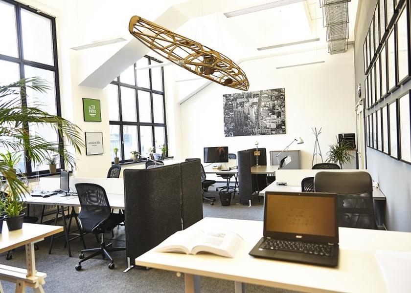 Private office at b+office in Kreuzberg