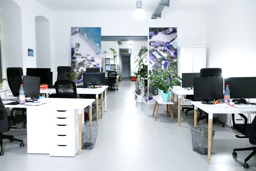 Fully furnished office at the center of Kreuzberg