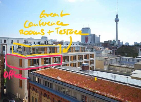 Arbeitsplatz in Berlin-Mitte zu vermieten