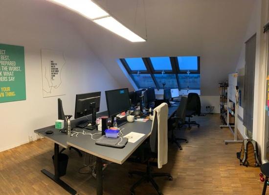 Büroräume zur Untervermietung mit tollem Blick über Berlin