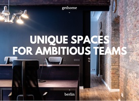 Arnimplatz - new furnished office for 10 employees