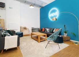 Team office loft style for 6-12 people in Kreuzberg / Neukölln (All-incl.)