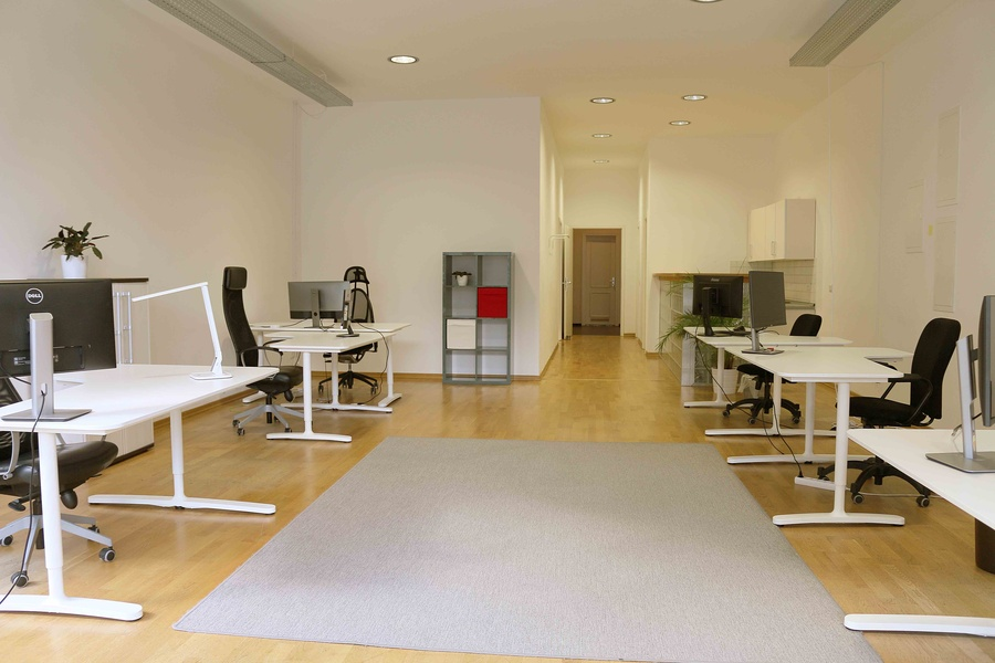 Central 100m² Office in Green Kreuzberg Kiez