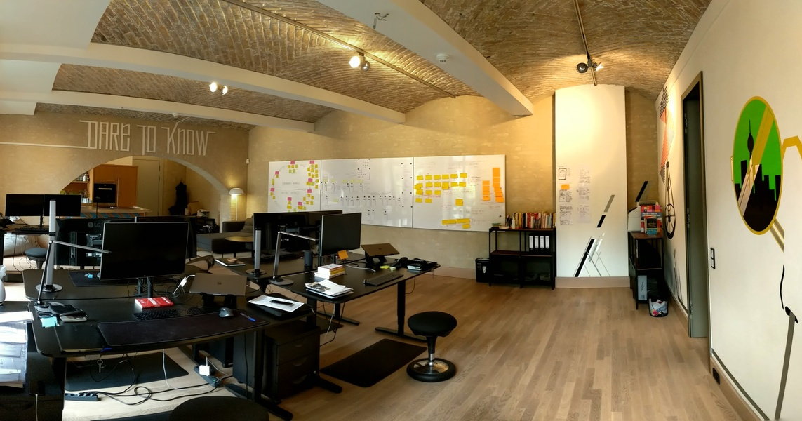 Unique Startup Office Loft in Mitte